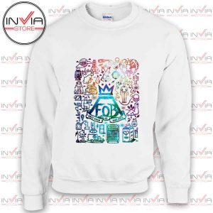 Fall Out Boy Poster Art Sweatshirt