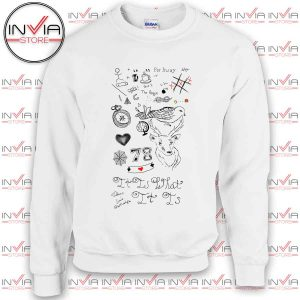Louis Tomlinson Tattoos Sweatshirt
