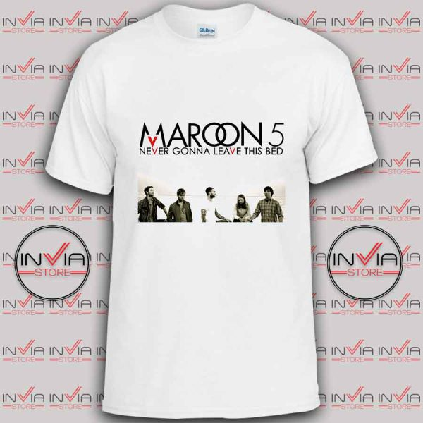 Maroon Five Never Gonna Leave tshirt