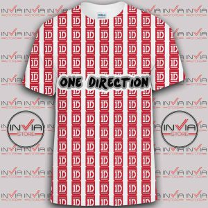 One Direction Logo Art tshirt Full Printing