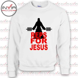 Reps for Jesus Sweatshirt