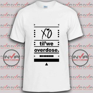 The Weeknd XO Overdose tshirt