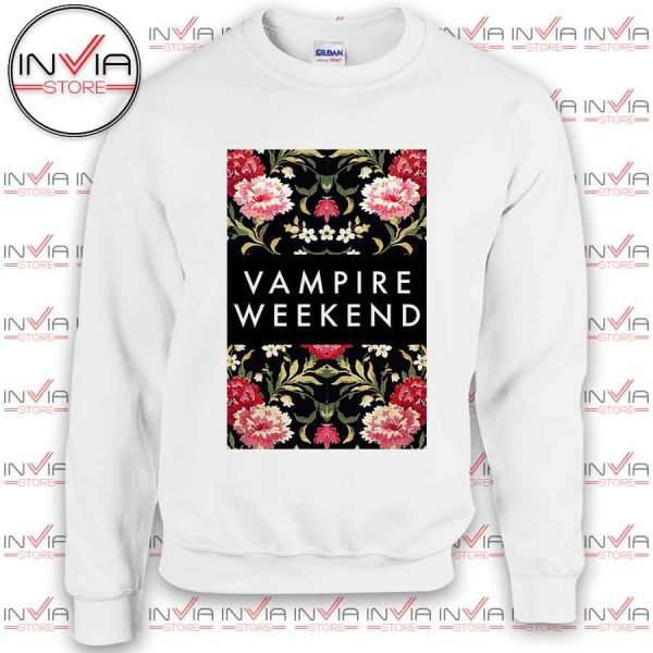 Vampire Weekend Rose Sweatshirt