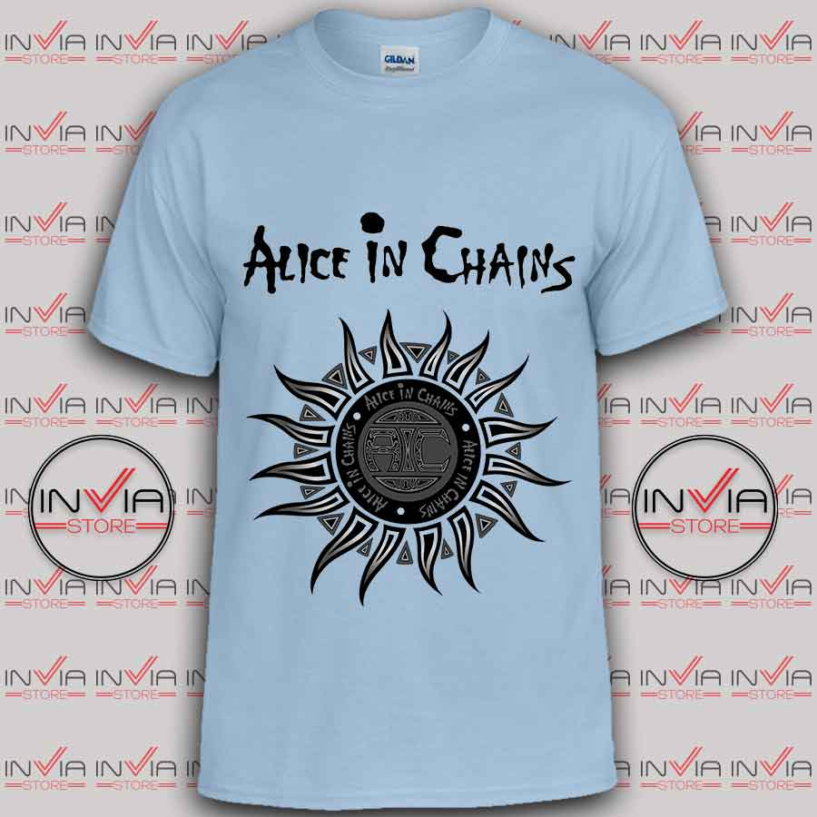 alice in chains tshirt
