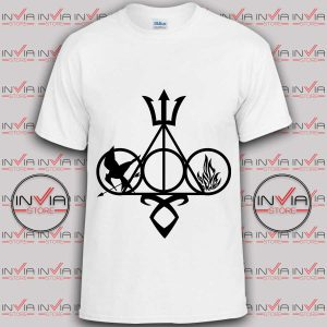 Tshirt Symbol Harry Potter and Catching fire
