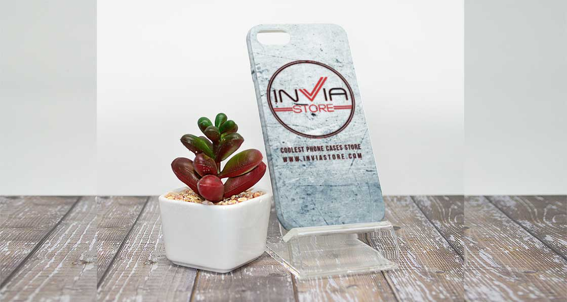 Banner Invia Store Coolest Phone Cases