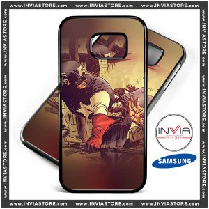 Coolest Phone Cases Captain America Comic Samsung Galaxy Cases