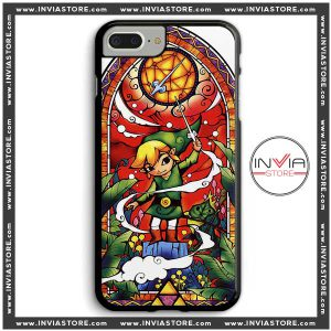 Coolest Phone Cases Legend of Zelda Stained Glass Iphone Case