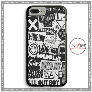 Coolest Phone Cases Rock and Roll Bands Iphone Case