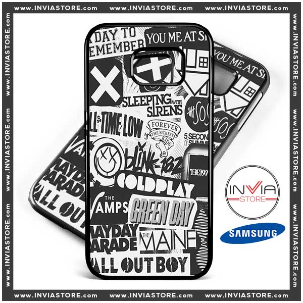 Coolest Phone Cases Rock and Roll Bands Samsung Galaxy Cases