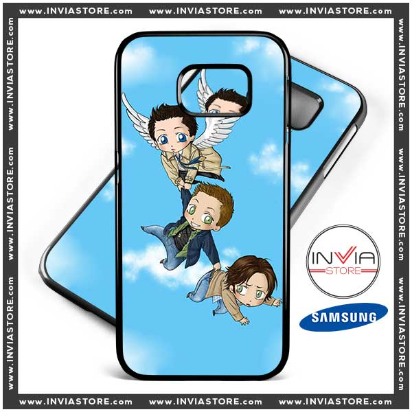 Coolest Phone Cases Supernatural Anime Samsung Galaxy Cases