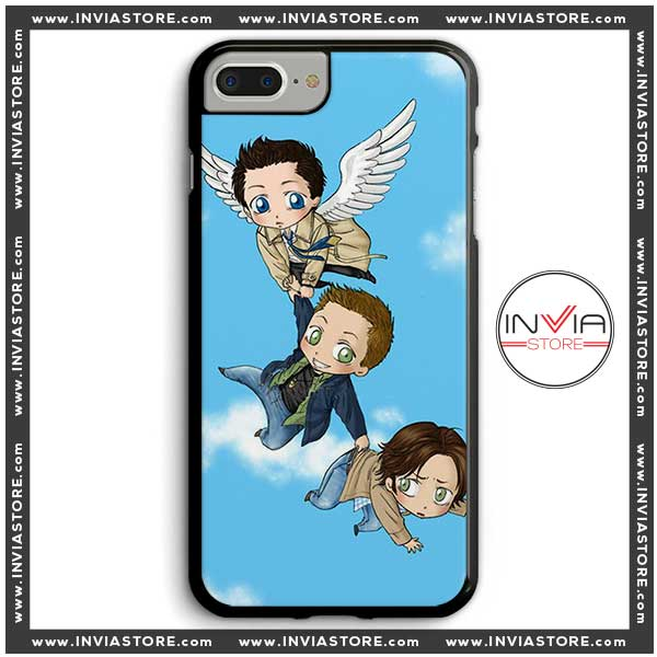 Coolest Phone Cases Supernatural The Animation Iphone Case