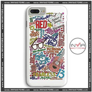 Coolest Phone Cases Taylor Swift Red Lyrics Iphone Case
