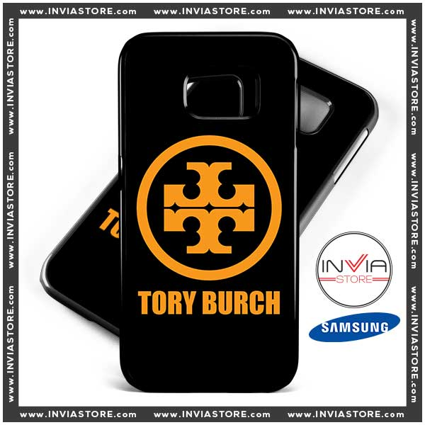 Coolest Phone Cases Tory Burch Gold Logo Samsung Galaxy Cases