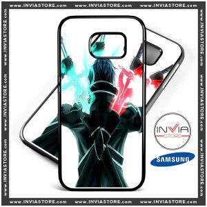 Phone Cases Sword Art Online Kirito Samsung Galaxy Cases