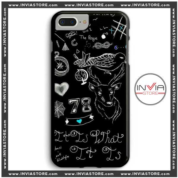 Coolest Phone Cases Louis Tomlinson Tattoos Iphone Case