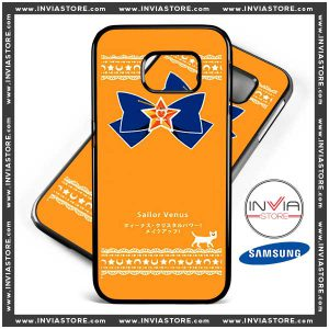 Coolest Phone Cases Sailor Venus Orange Samsung Galaxy Cases