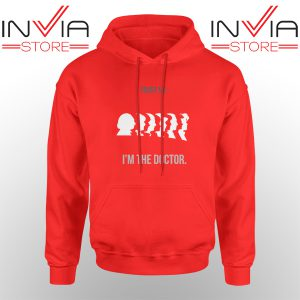 Best Hoodie Im A Doctor Who Hoodies Adult Unisex Red