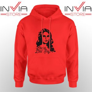 Best Hoodie Lana Del Rey Tour Merchandise Adult Unisex Red
