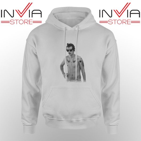 Best Hoodie One Direction Harry Style Tattoo Adult Unisex Grey