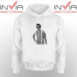 Best Hoodie One Direction Harry Style Tattoo Adult Unisex White