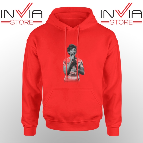 Best Hoodie One Direction Louis Tomlinson Adult Unisex Red