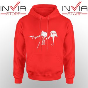 Best Hoodie Pulp Fiction Adventure Hoodies Adult Unisex Red
