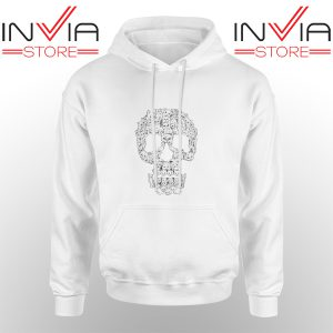 Best Hoodie Skulls Are For Pussies Hoodies Adult Unisex White