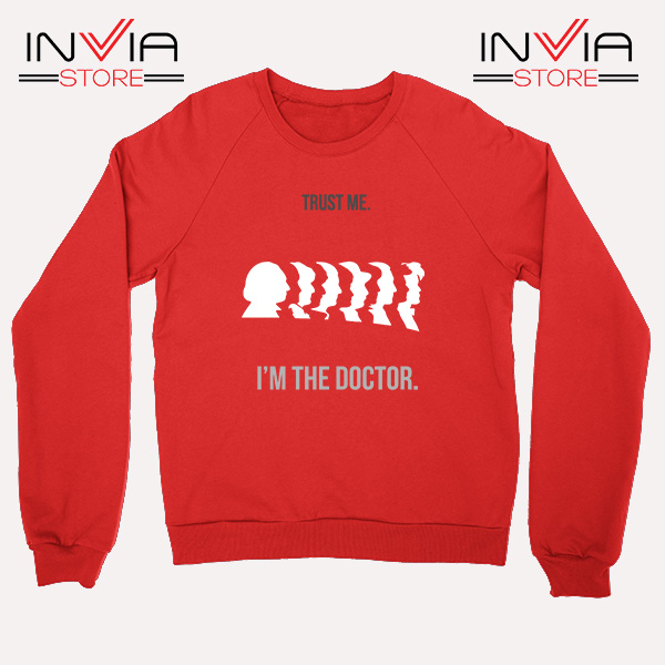 Best Sweatshirt Im A Doctor Who Sweater Size S-3XL Red