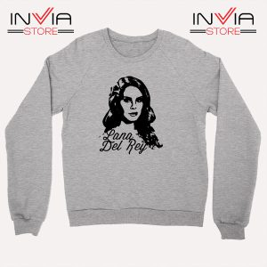 Best Sweatshirt Lana Del Rey Sweater Size S-3XL Grey