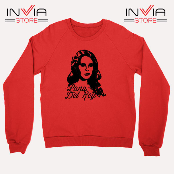 Best Sweatshirt Lana Del Rey Sweater Size S-3XL Red