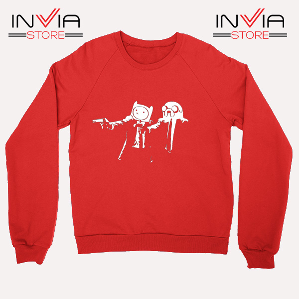 Best Sweatshirt Pulp Fiction Adventure Sweater Size S-3XL Red