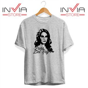 Best Tshirt Lana Del Rey Custom Tee Shirt Size S-3XL Grey