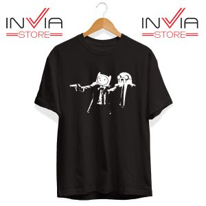 Best Tshirt Pulp Fiction Adventure Time Size S-3XL Black