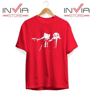 Best Tshirt Pulp Fiction Adventure Time Size S-3XL Red