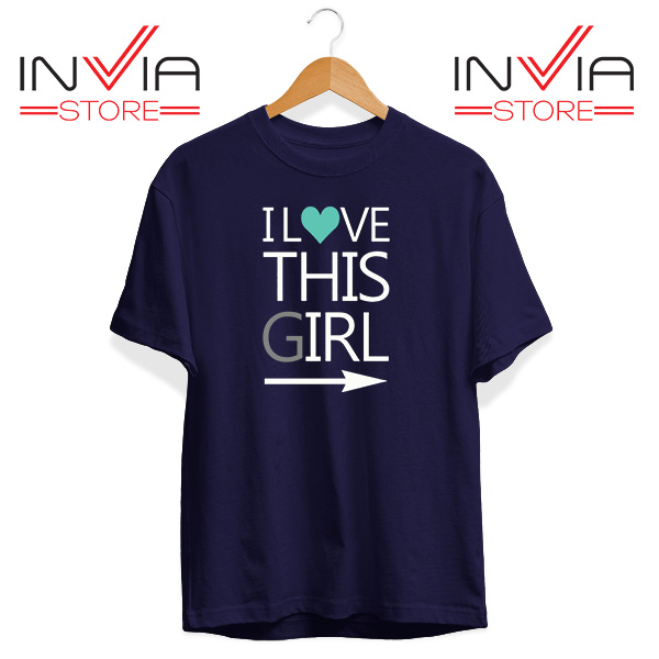 Best Tshirt This Guy This Girl Tee Shirt Size S-3XL Navy
