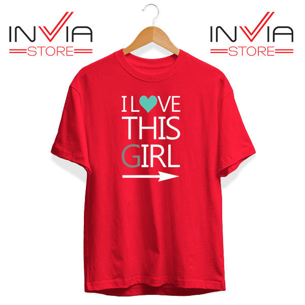 Best Tshirt This Guy This Girl Tee Shirt Size S-3XL Red