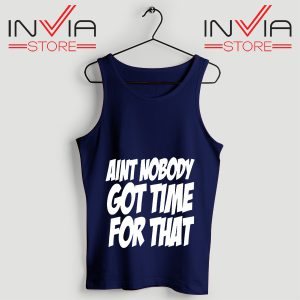 Buy Aint Nobody Felix Jaehn Custom Tank Tops Size S-3XL Navy