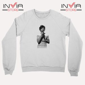 Buy Sweatshirt One Direction Louis Tomlinson Size S-3XL White