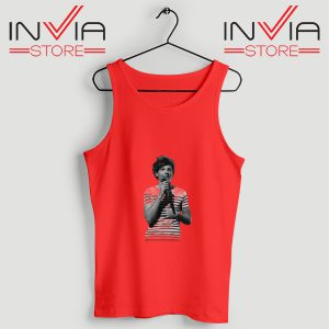 Buy Tank One Direction Louis Tomlinson Size S-3XL Red