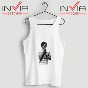 Buy Tank One Direction Louis Tomlinson Size S-3XL White