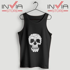 Buy Tank Skulls Are For Pussies Custom Size S-3XL Black