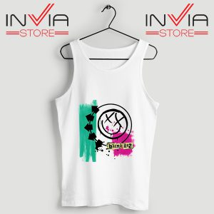 Buy Tank Top Blink 182 Logo Tank Tops Size S-3XL