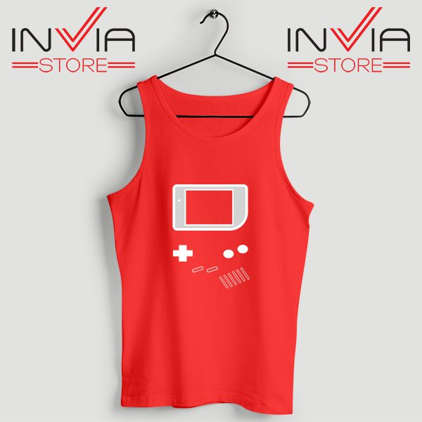 Buy Tank Top Nintendo Game Boy Color Size S-3XL Red