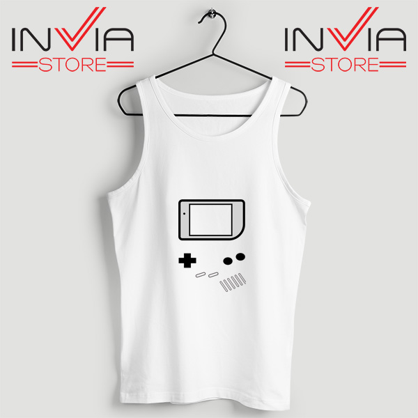 Buy Tank Top Nintendo Game Boy Color Size S-3XL White