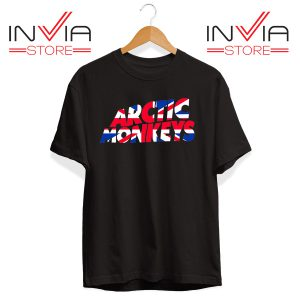 Buy Tshirt Arctic Monkeys Logo Tee Shirt Size S-3XL Black