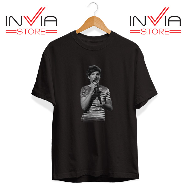 Buy Tshirt One Direction Louis Tomlinson Size S-3XL Black