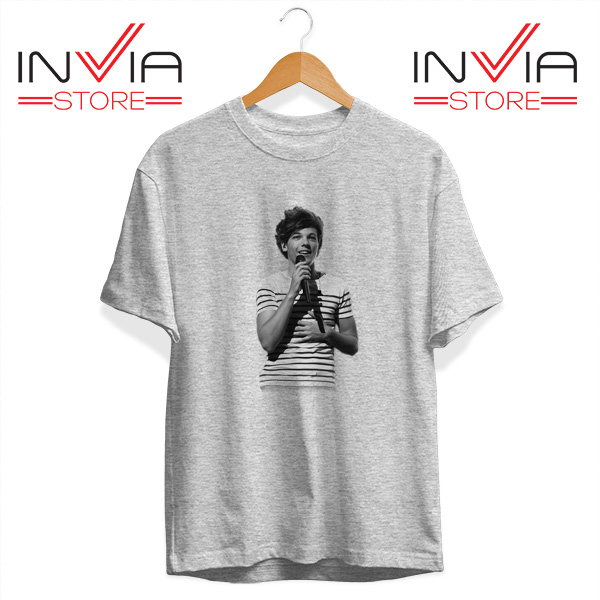 Buy Tshirt One Direction Louis Tomlinson Size S-3XL Grey