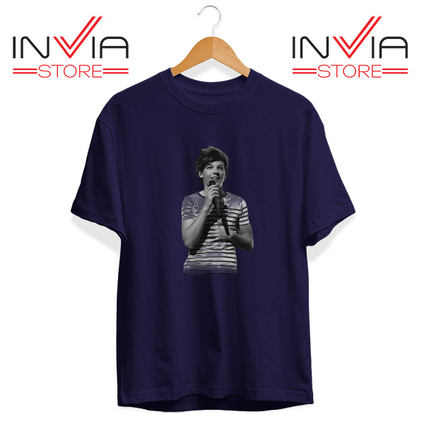 Buy Tshirt One Direction Louis Tomlinson Size S-3XL Navy