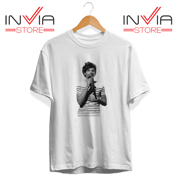 Buy Tshirt One Direction Louis Tomlinson Size S-3XL White